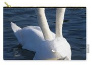 Swan Courtship  Carry-all Pouch
