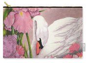 Swan In Pink Carry-all Pouch