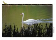 Swan In The Pond Carry-all Pouch