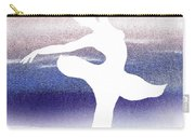 Swan Lake Ballerina Silhouette Carry-all Pouch