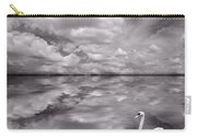 Swan Lake Explorations B W Carry-all Pouch