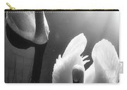Swan Lake In Winter -  Kingsbury Nature Carry-all Pouch