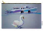 Swan Lake With Pleasure Boats Carry-all Pouch