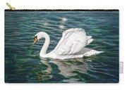 Swan On Lake Geneva Switzerland  Carry-all Pouch