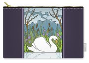 Swan On The River Carry-all Pouch