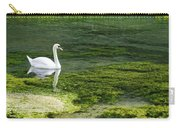Swan On The River Lathkill Carry-all Pouch
