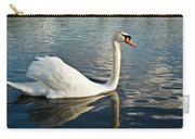 Swan On The Run Carry-all Pouch