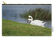 Swan Pair As Photographed Carry-all Pouch