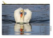 Swan Reflection Carry-all Pouch