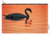 Swan Silhouette Carry-all Pouch