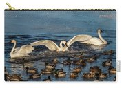 Swan Wings Reach Carry-all Pouch