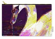 Swan White Water Bird White Swan  Carry-all Pouch