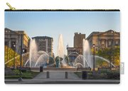 Swann Fountain In The Springtime Carry-all Pouch
