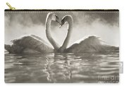 Swans In Lake Carry-all Pouch
