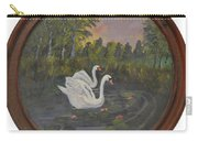 Swans On Lake Carry-all Pouch