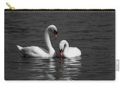Swans Swimming Isolation Carry-all Pouch