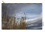 Sweeping The Clouds Away Carry-all Pouch
