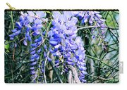 Sweet Briar Wisteria Carry-all Pouch