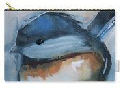 Sweet Chickadee Carry-all Pouch by Jani Freimann