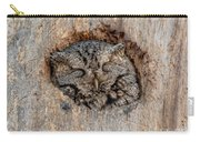 Sweet Dreams Screech Carry-all Pouch