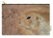 Sweet Face Of A Prairie Dog Up Close And Personal Carry-all Pouch