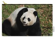Sweet Faced Chinese Giant Panda Bear Sitting Down Carry-all Pouch