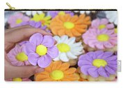 Sweet Floral Array Carry-all Pouch