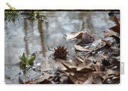 Sweet Gum Seed Pod In Mississippi Winter Carry-all Pouch