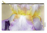 Sweet Iris Pastel Carry-all Pouch