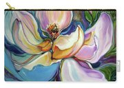 Sweet Magnoli Floral Abstract Carry-all Pouch