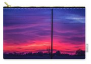 Sweet Nebraska Sunset 004 Carry-all Pouch