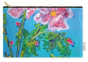 Sweet Pea Flowers On A Vine Carry-all Pouch
