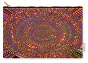 Sweet Pepper Melody Oval Abstract Carry-all Pouch