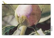 Sweet Pink Peony Bud Carry-all Pouch