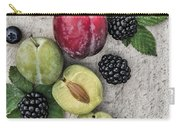 Sweet Plums  Carry-all Pouch