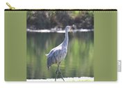 Sweet Sandhill By The Pond Carry-all Pouch