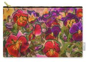 Sweet Viola Carry-all Pouch