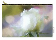 Sweet White Rose Carry-all Pouch