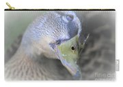 Sweetest Mallard Expression Carry-all Pouch