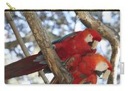 Sweetness - Scarlet Macaws Carry-all Pouch