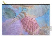 Swept Out With The Tide Carry-all Pouch by Betty LaRue