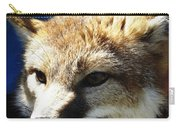 Swift Fox With Oil Painting Effect Carry-all Pouch