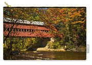 Swift River Covered Bridge In Conway New Hampshire Carry-all Pouch
