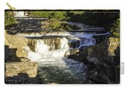 Swiftcurrent Falls Glacier Park 4 Carry-all Pouch