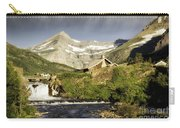 Swiftcurrent Falls Glacier Park Carry-all Pouch