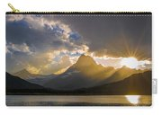 Swiftcurrent Lake Sundown Glacier N P Carry-all Pouch