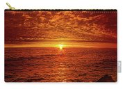 Swiftly Flow The Days Carry-all Pouch