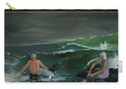 Swim At Your Own Risk Carry-all Pouch