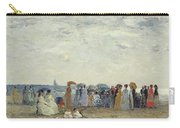 Swimmers On Trouville Beach Carry-all Pouch