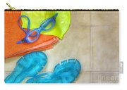 Swimming Gear Carry-all Pouch by Carlos Caetano